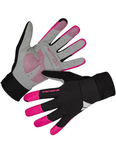Endura Windchill Handschuhe Damen kirschrot